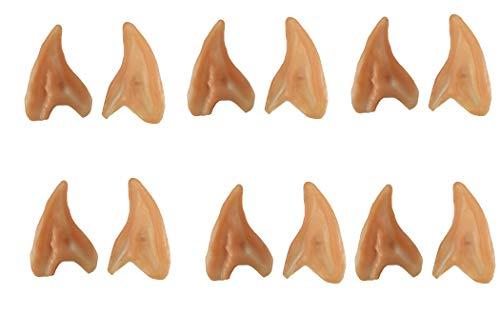 Nicky Bigs Novelties 6 Pack Small Elf Ears