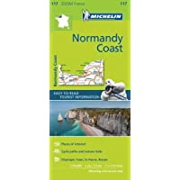 Normandy Coast - Zoom Map 117 (Michelin Zoom Maps)
