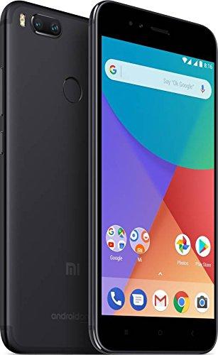 Xiaomi MI A1 (64GB, 4GB RAM) with Android One & Dual Cameras, 5.5'' Dual SIM Unlocked, Global Version, No Warranty (Black)