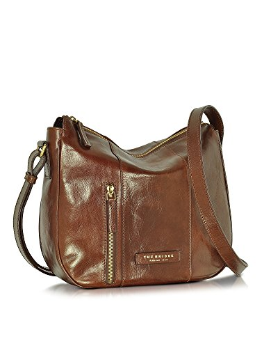 THE BRIDGE FEMME 0436560114 MARRON CUIR SAC PORTÉ ÉPAULE