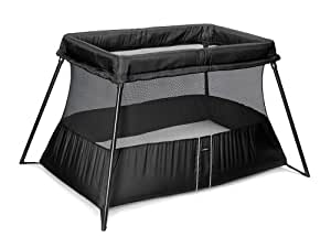 BABYBJÖRN Travel Crib Light 2 in Black