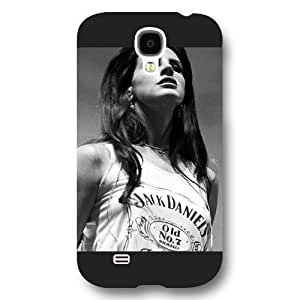 - Customized Personalized Black Frosted For Case Ipod Touch 4 Cover , American Famous Singer Lana Del Rey For Case Ipod Touch 4 Cover
