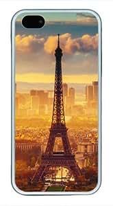 Iphone 5c 5c TPU Supple Shell Case Beautiful Scenery Tower White Skin by Sallylotus