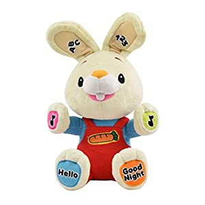 Baby First TV - Play & Sing Harry the Bunny Interactive Toy, Stuffed Animal Plush Toy, A Perfect Gift for Baby's First Birthday or Baby Shower, Infant, Baby & Toddler Toy - 41b 2BtxI0gxL - Baby First TV – Play & Sing Harry the Bunny Interactive Toy, Stuffed Animal Plush Toy, A Perfect Gift for Baby's First Birthday or Baby Shower, Infant, Baby & Toddler Toy