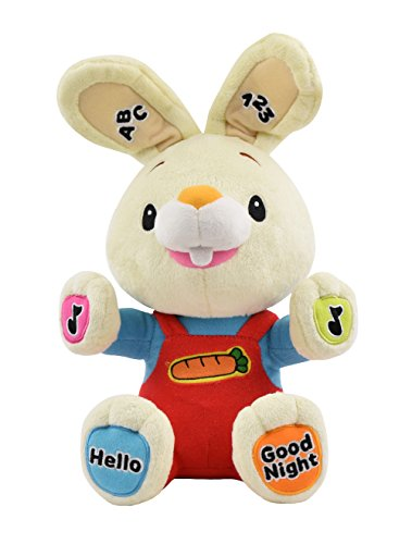 Baby First TV – Play & Sing Harry the Bunny Interactive Toy, Stuffed Animal Plush Toy, A Perfect Gift for Baby's First Birthday or Baby Shower, Infant, Baby & Toddler (Baby First Tv Characters)