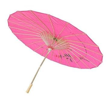 cofco chino paraguas sombrilla de mujer hecho a mano flor decorativa accesorios para boda baile