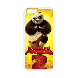 iPhone 6 Plus 5.5 Inch Cell Phone Case White Kung Fu Panda 001 Basic Cell Phone Carrying Cases LV_6110679