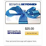Bed Bath and Beyond Gift Cards - Email Delivery