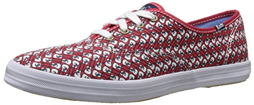 Keds Women's Taylor Swift Guitar Red Fashion Sneaker, - Keds Shoes Womens Star