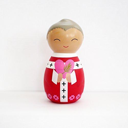 Shining Light Dolls St. Valentine Collectible Vinyl Figure Prayer Story - Valentine Cards Story Toy