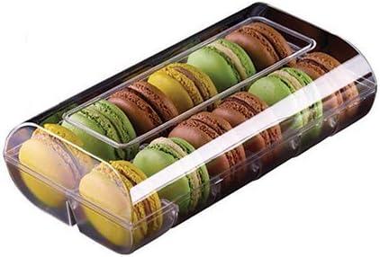 silikomart Professional – Caja Color 12 Macarons 48 Cajas marrón. Cocina: Alrededor de la Pâtisserie (Le Macaron del Chef): Amazon.es: Hogar