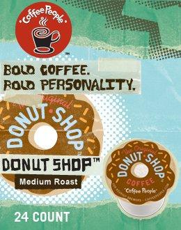Coffee People The Original Donut Shop K-Cup Coffee