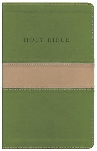 The Holy Bible: King James Version Olive on Tan Flexisoft Personal Size Giant Print Reference Bible