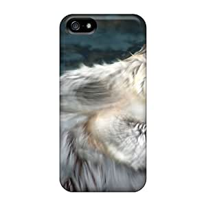 Cynthaskey Fashion Protective Animals Beasts Floating Beaver Case Cover For Iphone 5/5s
