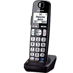 Telephone Cordless, Black Panasonic Cordless Handset Home Landline Telephones