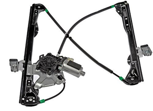 Front Passenger Power Window Regulator with Motor NEW 2000 - 2002 Lincoln LS 00-02 Jaguar S-Type (thru VIN M45254) YW4Z5423208AA FO1351142 by AUTO PART PLUS