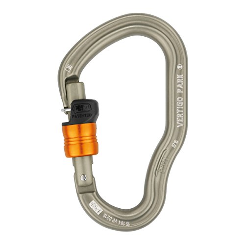 Petzl Pro Vertigo Wire-Lock PARK Carabiner High Corrision Resistance 10 pack by Petzl