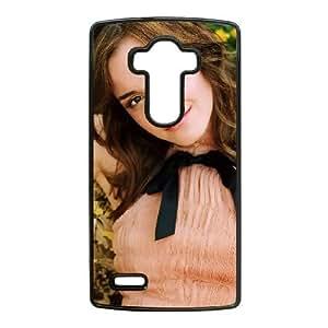 caja del teléfono celular LG G4 funda M5M5BS Emma Watson Negro