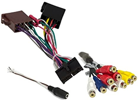 41b%2BxX XwAL._SX466_ amazon com jensen 31100216 harness to upgrade jrv212t to jrv9000