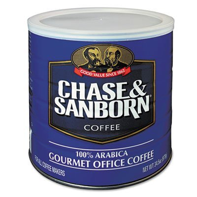office-snax-ofx33000-chase-and-sanborn-coffee100-percent-arabica-345-oz-by-office-snax