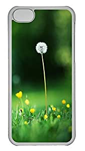 TYHde ipod Touch4 Case A Fresh Flower PC ipod Touch4 Case Cover Transparent ending
