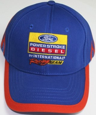 Ford Powerstroke Cap Hat diesel truck international racing series nascar
