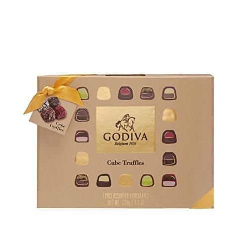 Godiva, Cube Truffles bombones trufas surtidas caja regalo 12 piezas, 120g: Amazon.es: Alimentación y bebidas