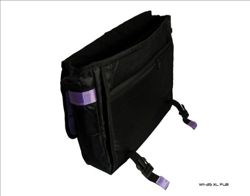 N1407 for Bag nFinity N1408 Black Novatech 2367 Laptop Purple amp; Style Messenger xnpX8Xq