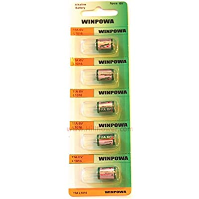 1000 pcs 11A Card Alkaline Battery Compatible with A11 GP11A L1016 11A MN11 AG11 plus Hillflower Coupon