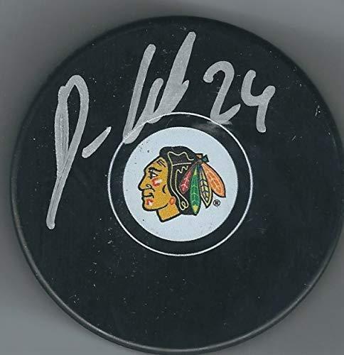 fb5195bb2a7c4 Autographed Dominik Kahun Chicago Blackhawks Hockey Puck at Amazon's ...