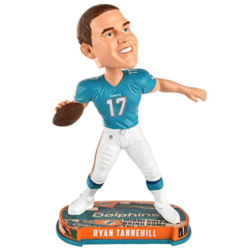 Forever Collectibles Ryan Tannehill Miami Dolphins Headline Special Edition Bobblehead NFL (Dolphins Bobble Head Miami)