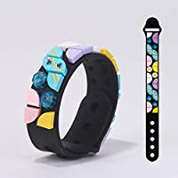 XUXN Creative DIY Dot Building Block Bracelet, DIY Craft Bracelet Making Kit, A Fun Craft Kit for Kids Who Like Making Creative Jewelry, A Great Holiday or Birthday Gift