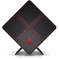 OMEN X by HP Gaming Desktop Computer, Intel Core i9-7920X, NVIDIA GeForce GTX 1080 Ti, 32GB RAM, 2TB hard drive, 512GB SSD, Windows 10 (900-250, Black)