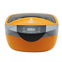 2.5L Digital Ultrasonic Cleaner Machine 120W with Timer Cleaning tank Vegetable washing machine