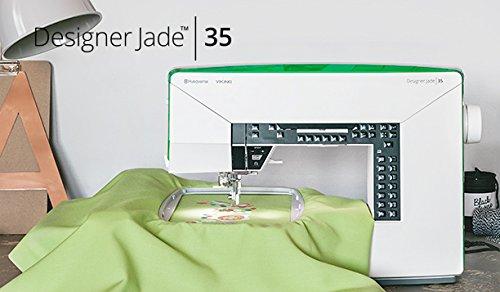 Husqvarna Viking Conspirator Jade 35 Sewing and Embroidery Machine