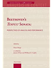 Beethoven's Tempest Sonata: Perspectives of Analysis and Performance
