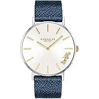 Relógio Coach Feminino Couro Azul - 14503156