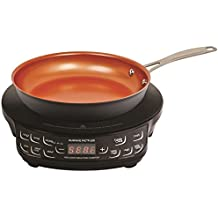 """NuWave PIC Flex Precision Induction Cooktop with Fry Pan - Black - 9"""""""