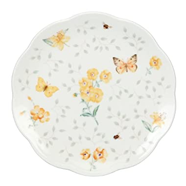 Lenox Butterfly Meadow Dessert Plates, 8-Inch, Assorted Colors, Set of 4