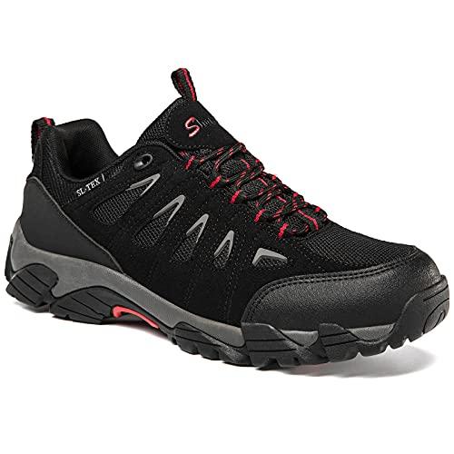 SHULOOK Men's Waterproof Hiking Shoes Lightweight