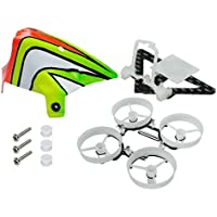 Microheli CNC Delrin/Double Carbon Fiber 65mm Ducted Frame/ Camera Mount/ Canopy Set - BLADE INDUCTRIX FPV