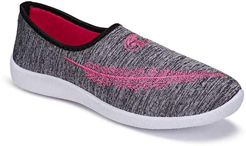 TYING Women's 5046 Grey Exclusive Range of Casual Sneakers Loafers Shoes