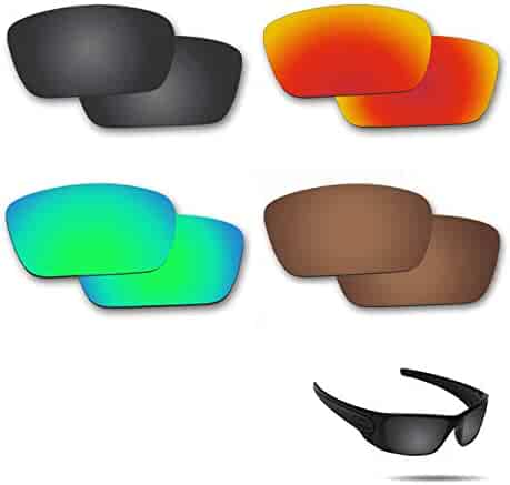 77960a4eb11ee Fiskr Anti-saltwater Polarized Replacement Lenses for Oakley Fuel Cell  Sunglasses 4 Pairs