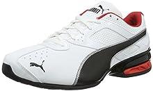 PUMA Tazon 6 FM, Zapatillas para Correr de Carretera para Hombre, Blanco (White-Black Silver), 43 EU
