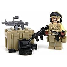 Green Beret SFODA Team Member (SKU26)- Battle Brick Custom Minifigures