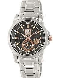 Seiko Men's Premier SNP098 Silver Stainless-Steel Seiko Kinetic Watch