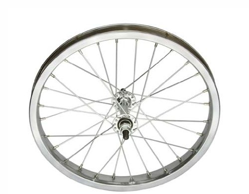 16'' x 1.75'' Steel Front Wheel 14G Chrome. Bicycle wheel, bike wheel, Lowrider bike wheel, lowrider bicycle wheel, chopper, cuiser, bike part, bicycle part by Lowrider