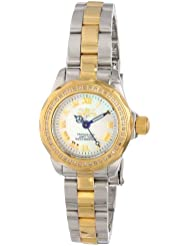 Invicta Womens 15520 Wildflower Analog Display Swiss Quartz Two Tone Watch