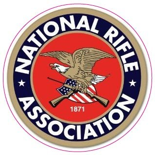 Nostalgia Decals NRA Guns and Rifles Small Sticker Decal 3 Fast from the United States