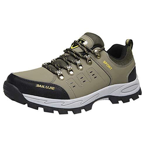 Haforever Men's Waterproof Hiking Boots Lightweight Outdoor Sandproof Boots for Outdoor Trailing Walking